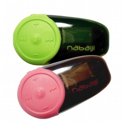 Nabaiji mp3 for Ecouteur pour piscine