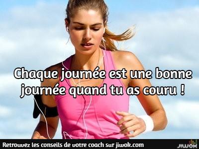 débutant course à pied jogging
