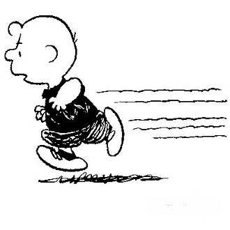 Charlie brown running