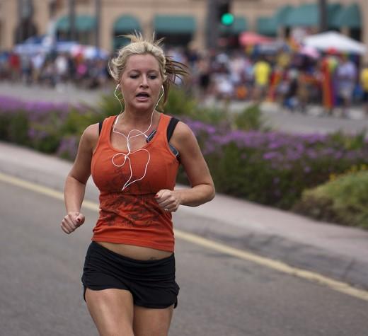 débutant running jogging