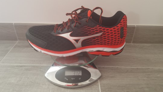 test avis wave 18 mizuno running