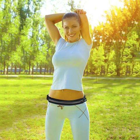 ceinture jogging rangement