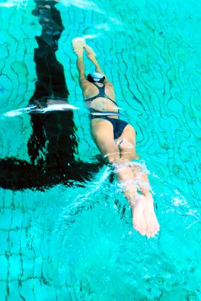 nager en musique