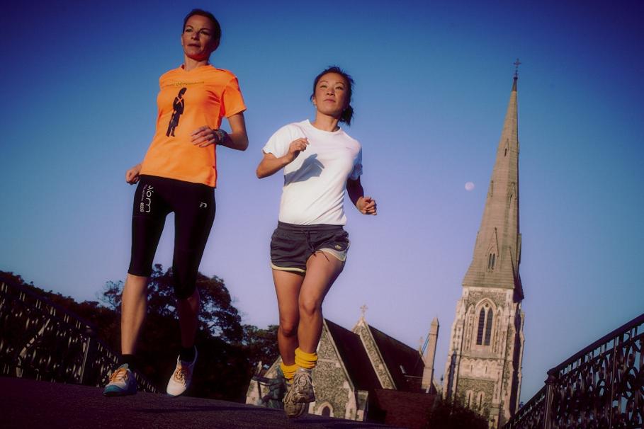jogging en europe