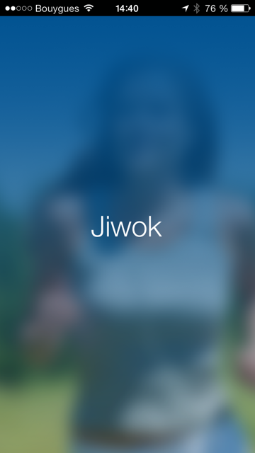 Application Jiwok