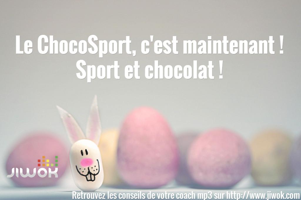 sport et chocolat