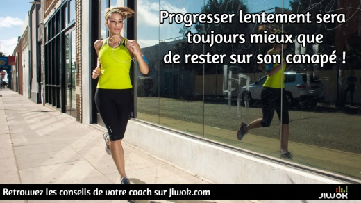 progresser running course à pied