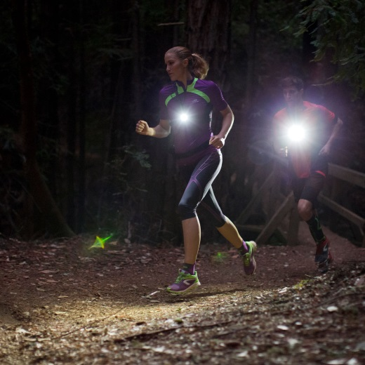Courir la nuit - runing le soirt  lampe run light  3fcd0adf577d