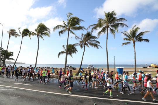 Honolulu-Marathon-running