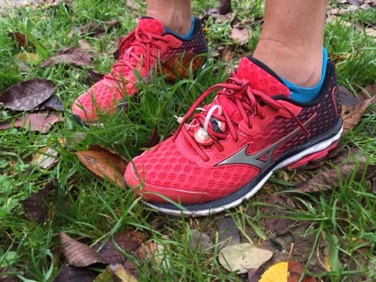 test chaussure running mizuno