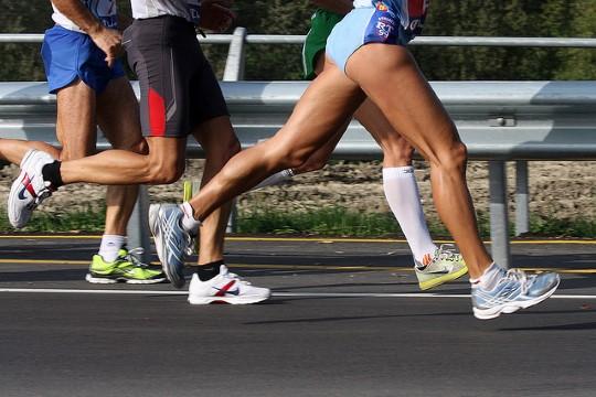crampe running course à pied jogging