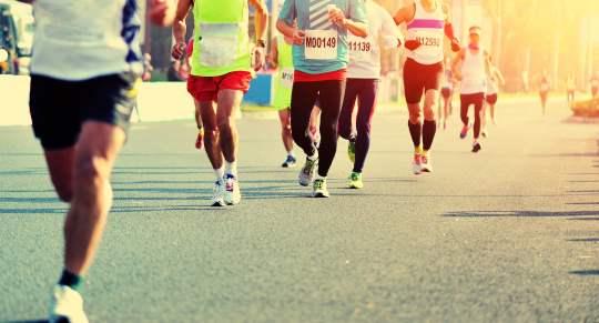 blues marathon gérer l'après course
