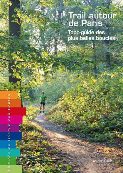 Couv simple trail autour de Paris BD