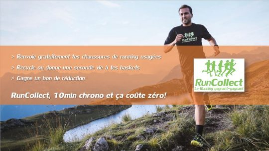 runcollect - recycle chaussures running