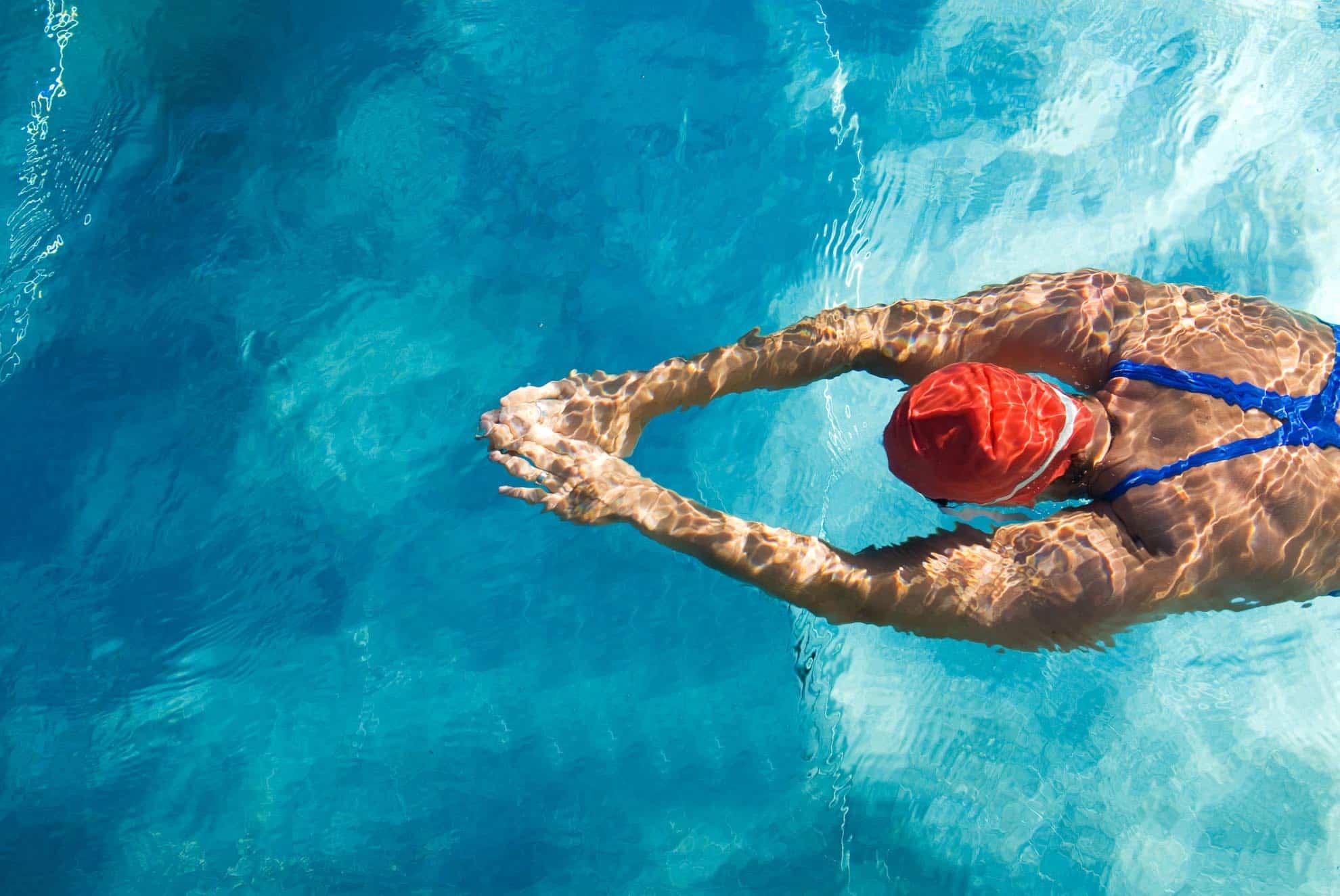 Brûler des calories et perdre du poids en natation 498