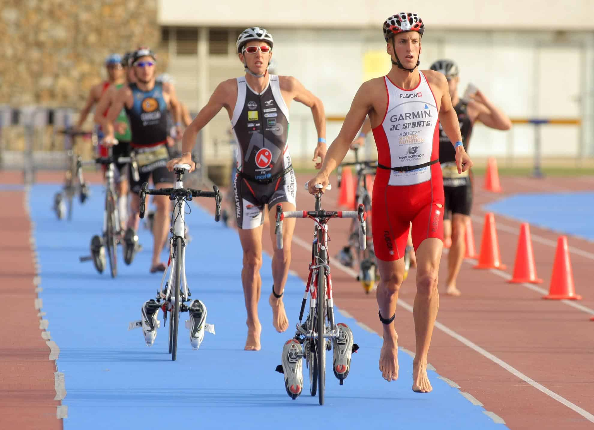 triathlon par equipe de 3