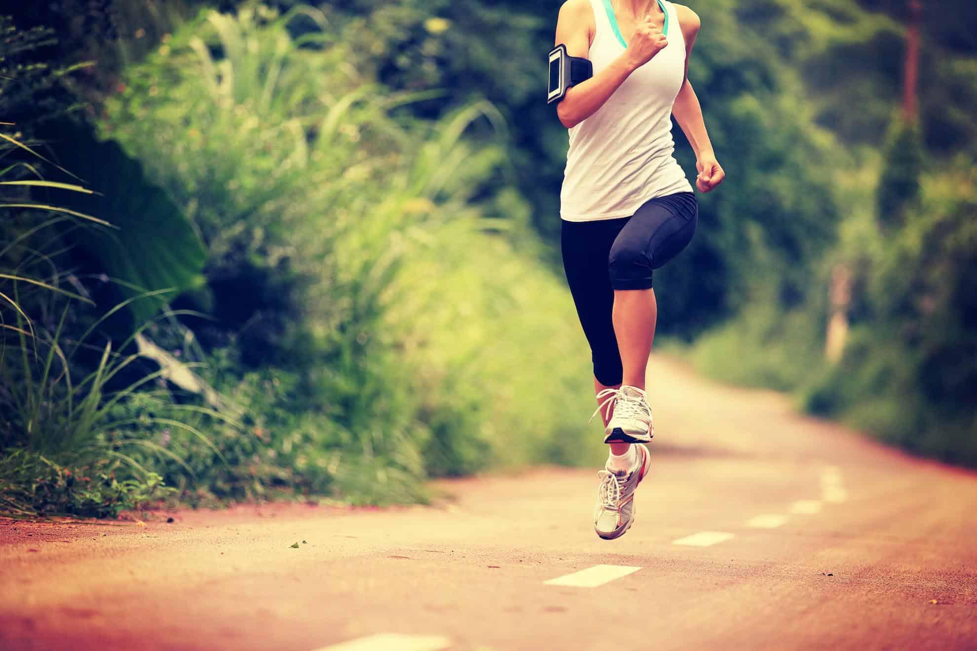 course a pied 4 fois par semaine